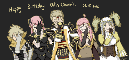 FE - Happy Birthday Odin! by MapleRose