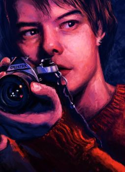 Jonathan Byers Stranger Things by theMagicals