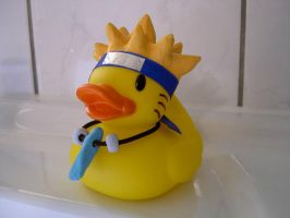 Old Naruto Ducky by xx-Leony