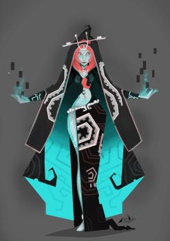 Midna Charac-Design by Dueswals
