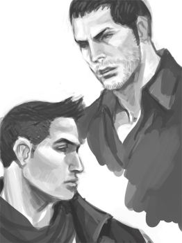 Chris and Piers by Juongie