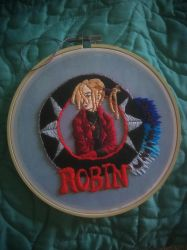 Witch Hunter Robin Embroidery by Richard-Penn