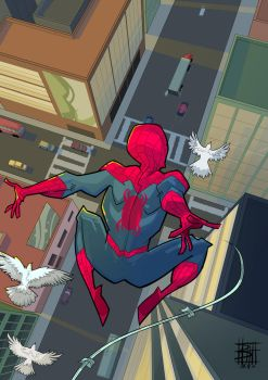 SPIDERMAN by BOTAGAINSTHUMANITY