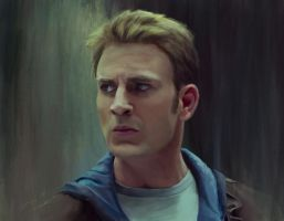 Steve Rogers by RussianVal