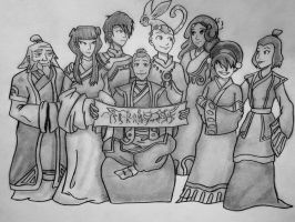 The Aang Gang by TheCloudchaser