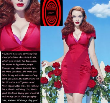 Christina Hendricks: Hypnotic Temptress! by HypnoHunter