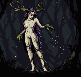 Forest Maiden by aamatniekss