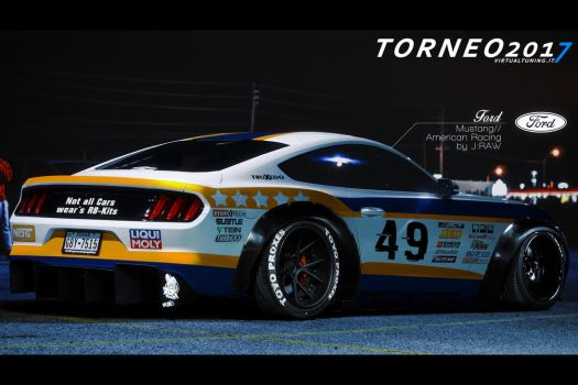 Ford Mustang // American Racing by KlausAuto
