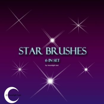 Star Brushes by moonlight-lust