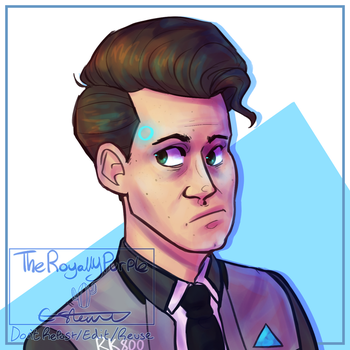 How the heck do u draw connor.png by TheRoyallyPurple