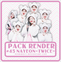 [1217] PACK RENDER #45 NAYEON by DeliaPsc