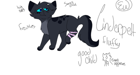 Cinderpelt REDESIGN by IckiWicki