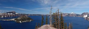 Crater Lake III by kdiff3