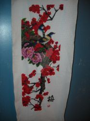 Finished Birds in Plum Blossoms 2 by Dee-sama