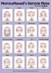 hairstyle meme by Oko-be