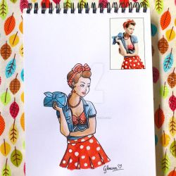 Look of the day 3/100 by Gloewen-Art
