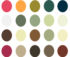 Round1 Circles by Palettes-for-you