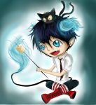 Blue Exorcist: S'mores! by Checker-Bee