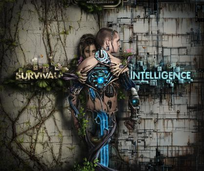 Survival vs. Intelligence by zbush