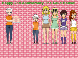 Happy 2nd Anniversary The Loud House! by TheLoudHouse1998