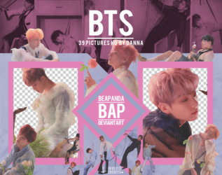 Pack Png 1264 // BTS (LY - Answer) (E version) by BEAPANDA