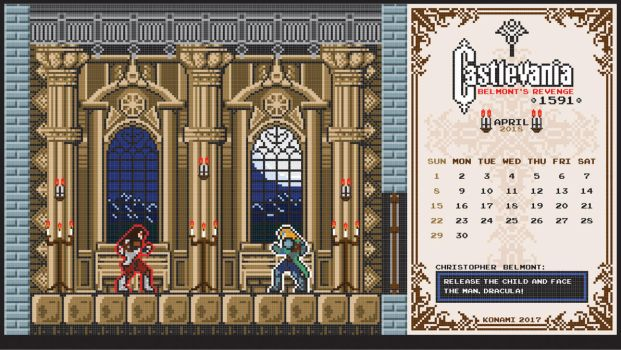 Castlevania Tides Of Times April 2018 by houssamica