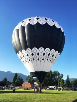 hot air balloon 2 by yellowicous-stock