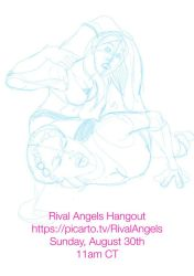 Rival Angels Hangout by albonia