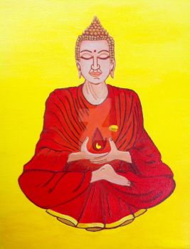 Buddha 2 by InconsistantMe