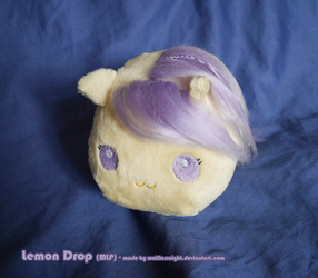 Lemon Drop Chibi Plush by Wolflessnight