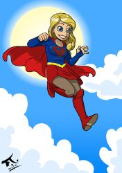 Supergirl by PsychoCaptain