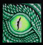 Green Dragon`s Eye by HeidyRolland