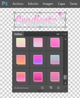 Comic Gradients Styles by Chokolathosza