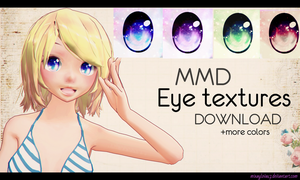 MMD Eye textures DL!~ by mixaylova17