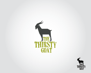 The Thirsty Goat by samadarag