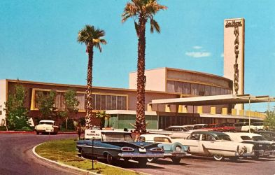 Vintage Hotels - Hacienda Hotel, Las Vegas NV by Yesterdays-Paper