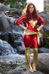 Dark Phoenix Cosplay by Liz by wbmstr
