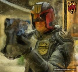 Judge Dredd by thephoenixprod