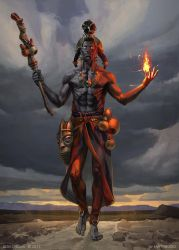 Eshu Guardian of the Paths by OlgaDrebas