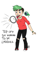 Collab-Jacksepticeye by SpoopyMidnight
