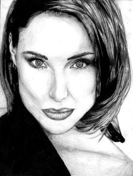 A Portrait of Claire Forlani by nihilisticobsession