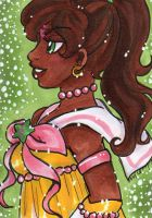 ACEO Sailor Ene by nickyflamingo