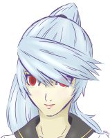 Human Labrys colored sketch by supereva01