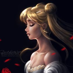 Sailor Moon: Serenity by daekazu
