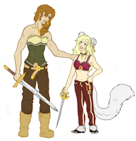 Freddie and Jaqueline by Snowy-Dragoness