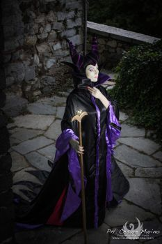 Maleficent, join to the dark side -Sleeping beauty by Giorgiacosplay