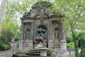Fountain of the Medicis Paris France by Vinanti
