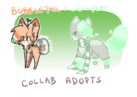 CLOSED Jellycat + Bubbletail Collab Adopt Auction by greenfurkitti