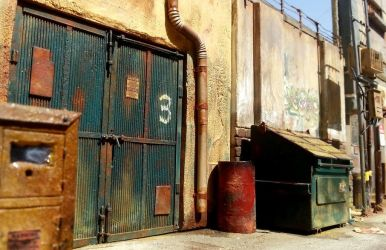 Alleyway diorama in 1:24 (view 2) by alamedy