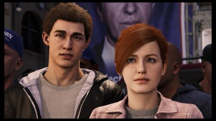 Peter Parker and MJ by JorundShadefur